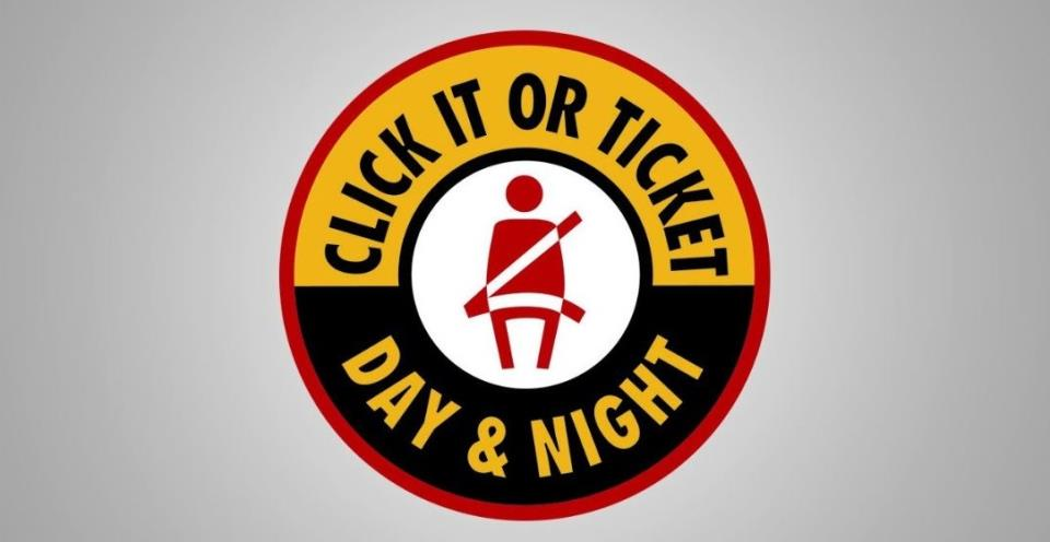 Click It or Ticket Oct. 14 - 30, 2016
