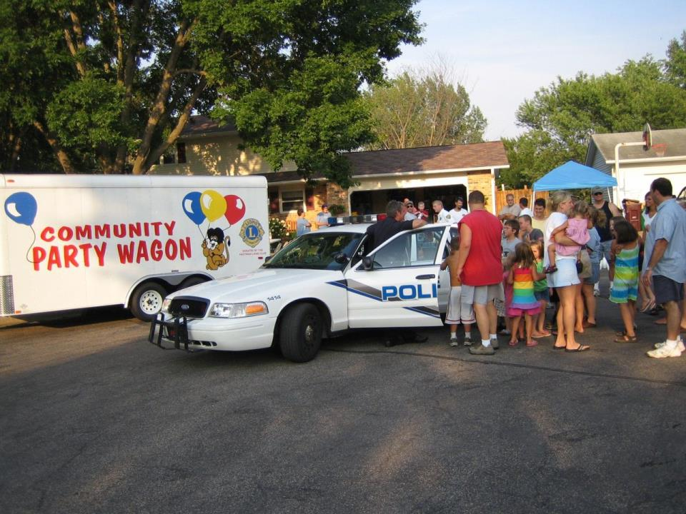 Party Wagon Block Party