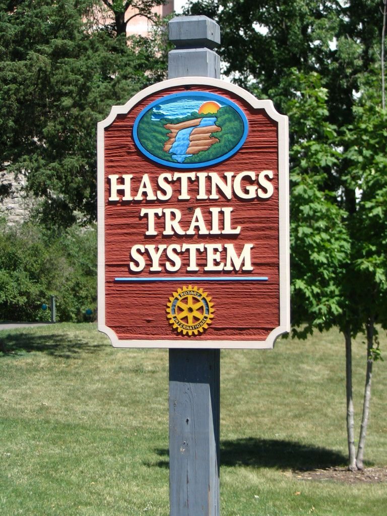 Hastings Trail Sign