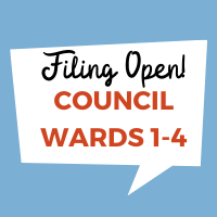 Candidate Filing Period Now Open!