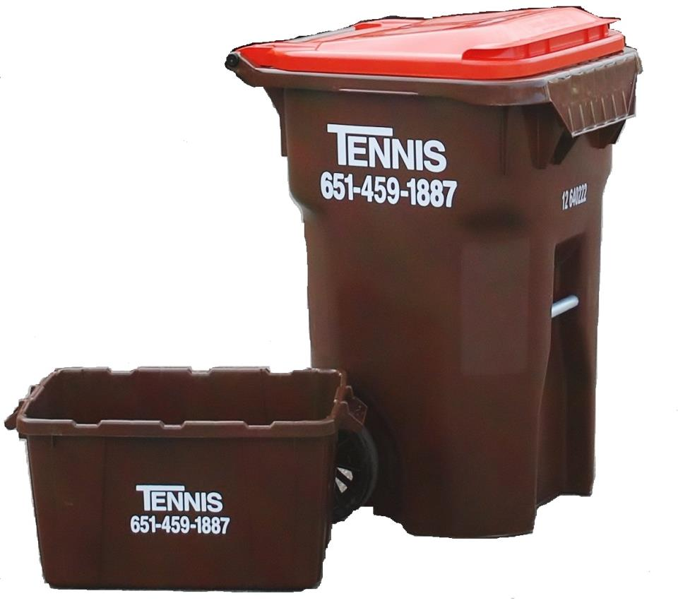 Tennis Recycling Cart